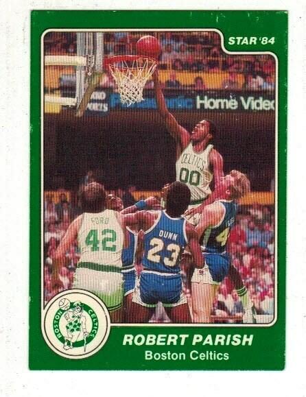 1984/85 Star #35 Robert Parish SP