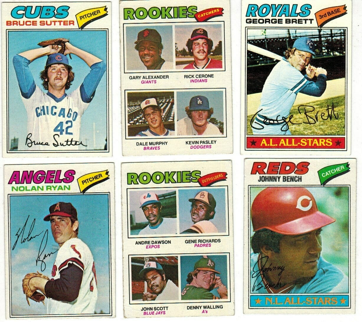 1977 Topps Baseball Complete set  Ex to Ex/Mint
