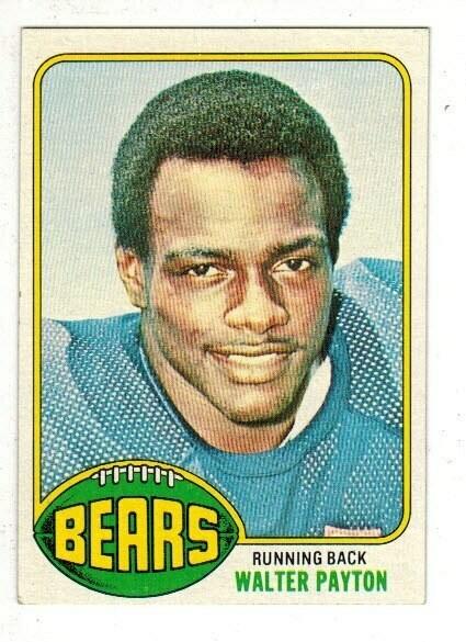 1976 Topps Walter Payton rookie Ex/Mint