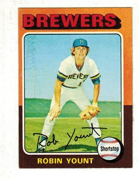 1975 Topps #223 Robin Yount rookie, List $50, Sell $45