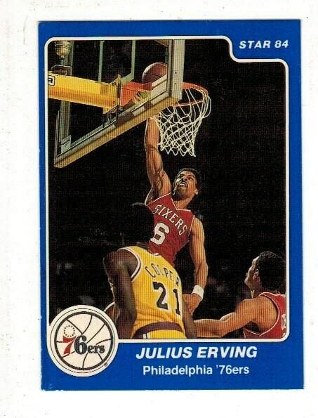 1984/85 Star #1 Julius Erving