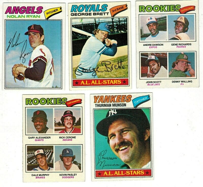 1977 Topps Baseball Complete set Ex/Mint to Ex/Mt+