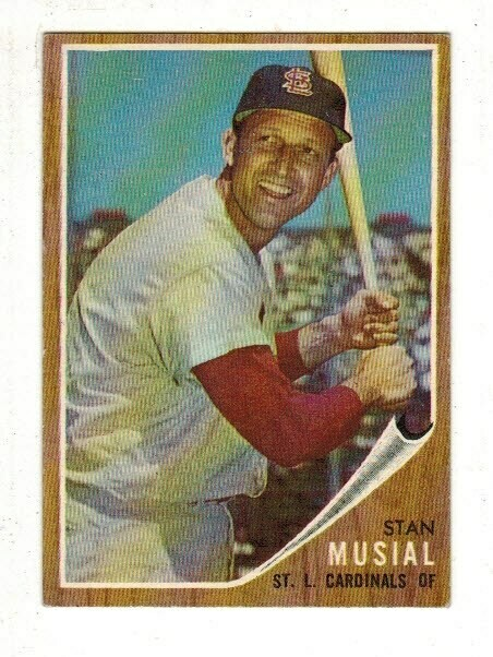 1962 Topps #50 Stan Musial