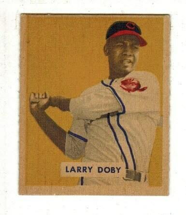 1949 Bowman #233 Larry Doby rookie Ex/Mint Sharp Corners