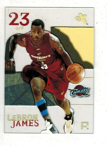 2003/04 Skybox eX #102 Lebron James rookie
