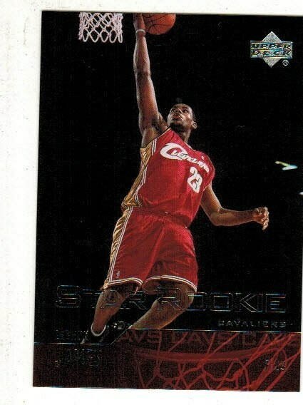 2003/04 Upper Deck #301 Lebron James rookie