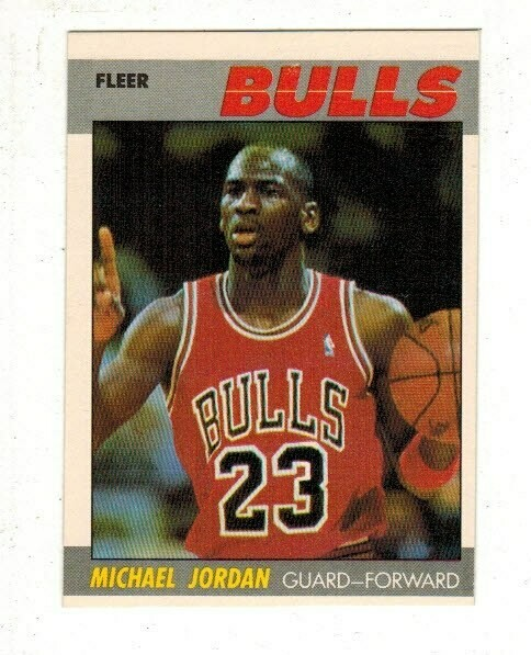 1987/88 Fleer #59 Michael Jordan 2nd Year
