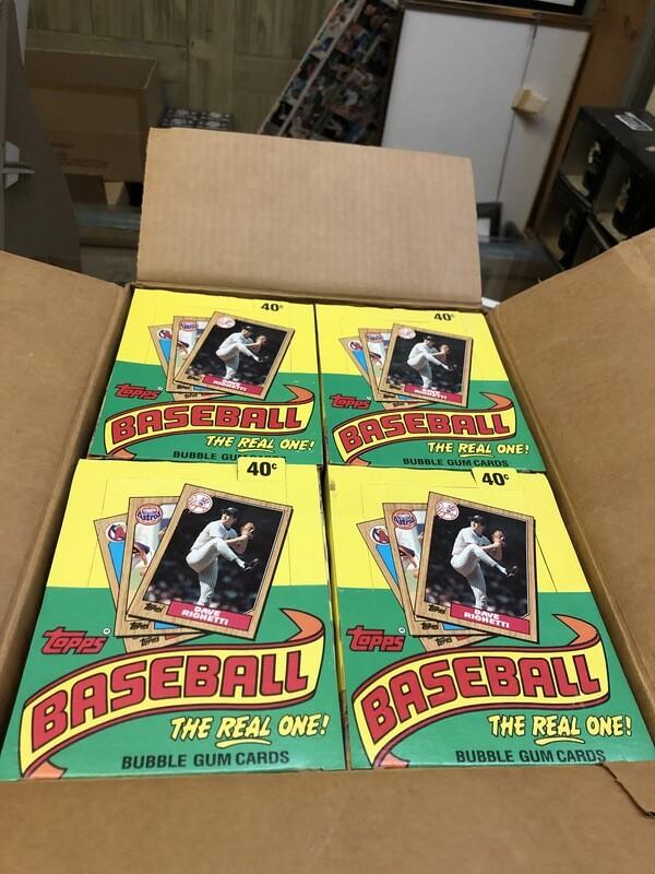 1987 Topps Baseball 20 box Case