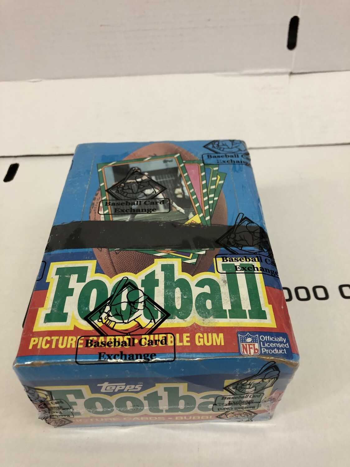 1986 Topps Football Complete Wax Pack Box Sealed & Wrapped by BBCE