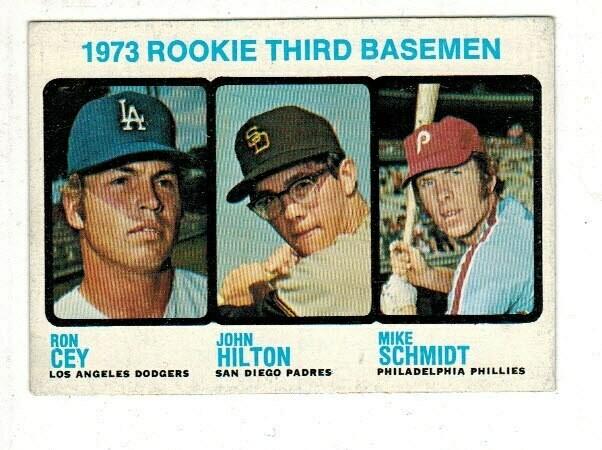 1973 Topps #615 Mike Schmidt Ex/Mint