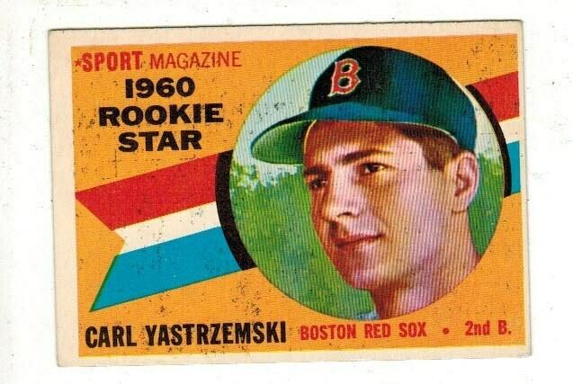 1960 Topps #148 Carl Yastrzemski rookie Ex+