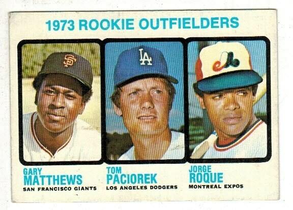 1973 Topps #615 Mike Schmidt rookie Ex/Mint