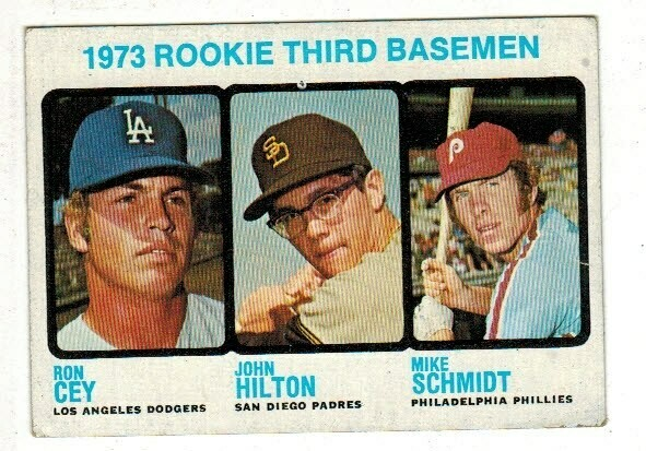 1973 Topps #615 Mike Schmidt rookie Ex to Ex+