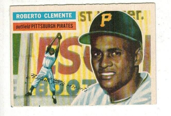 1956 Topps Roberto Clemente list $600