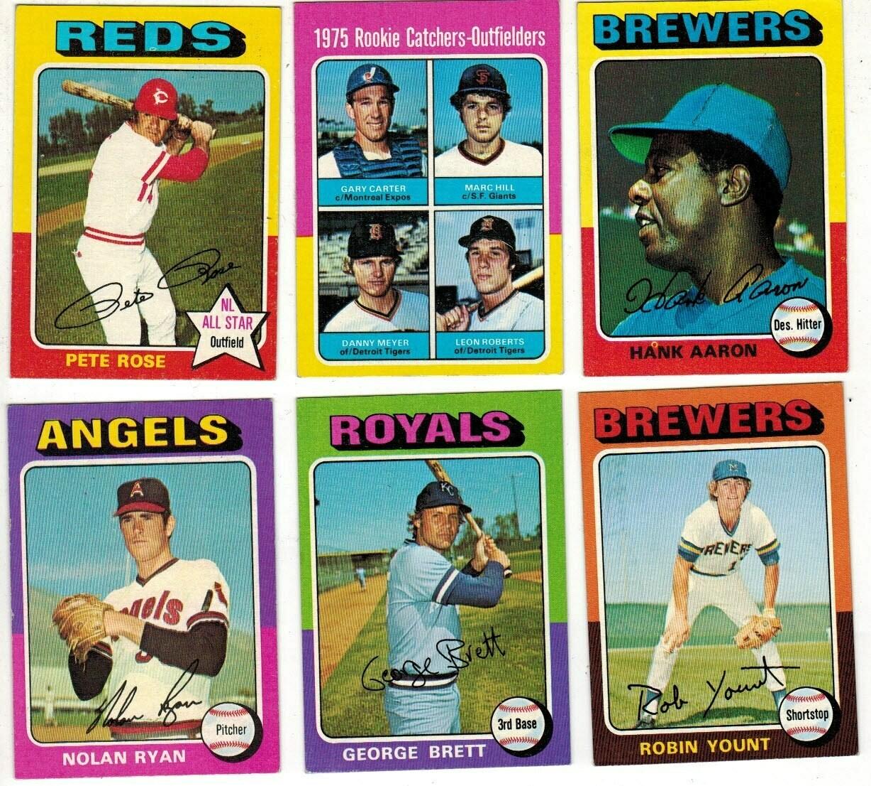 1975 Topps Baseball set Ex/Mint or better