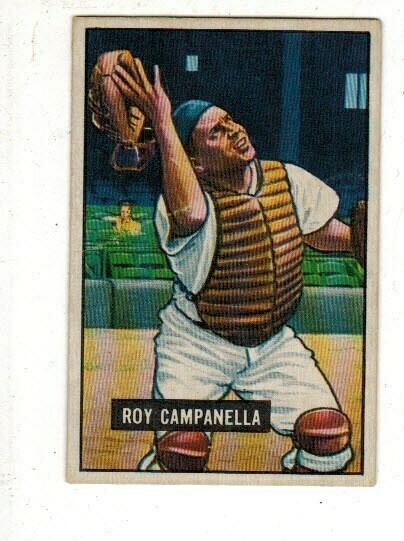 1951 Bowman #31 Roy Campanella list $300