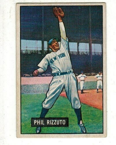 1951 Bowman #26 Phil Rizzuto
