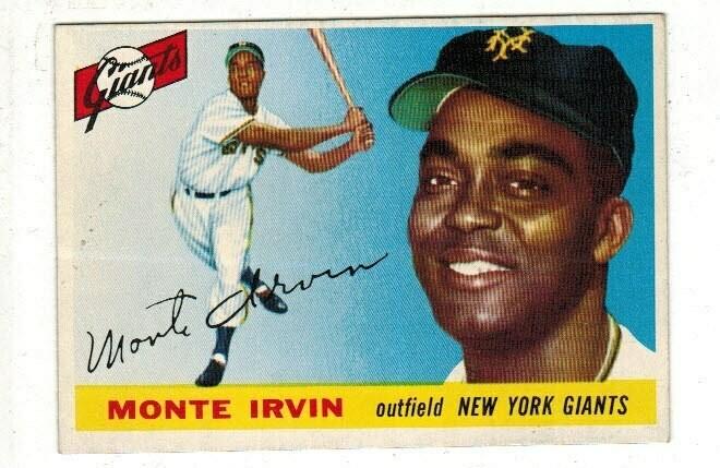 1955 Topps #100 Monte Irvin