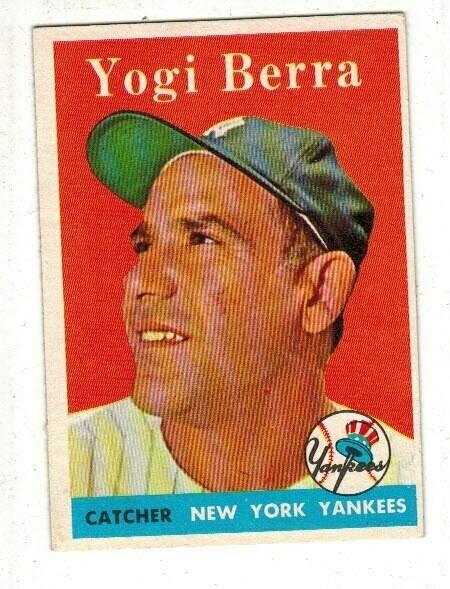 1958 Topps #370 Yogi Berra list $120