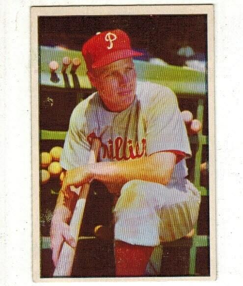 1953 Bowman Color #10 Richie Ashburn  list $120