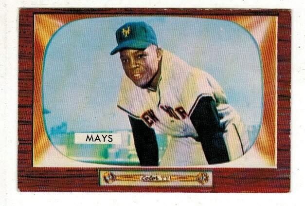 1955 Bowman #184 Willie Mays list $500