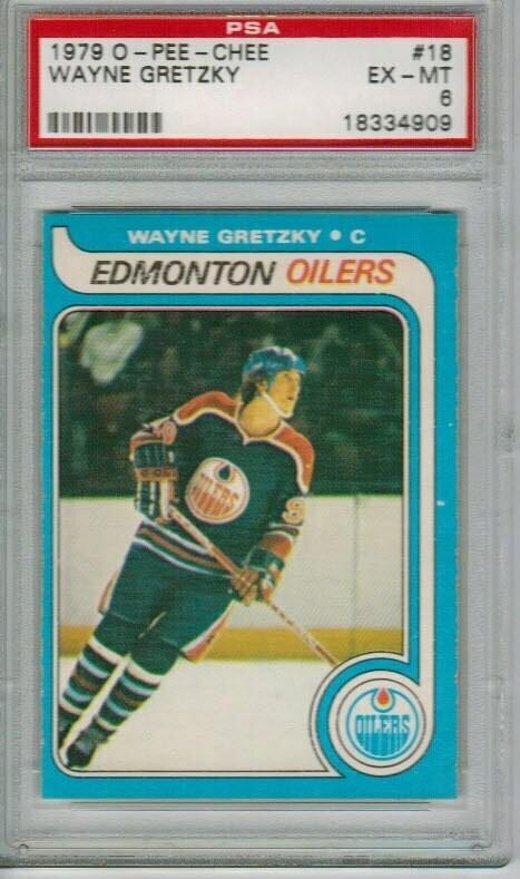 1979/80 Opeechee #18 Wayne Gretzky rookie PSA 6