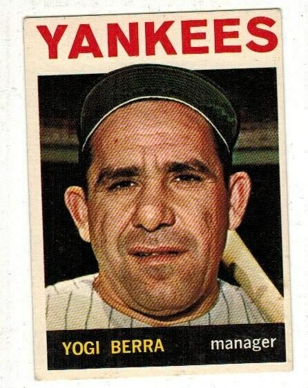1964 Topps #21 Yogi Berra List $60