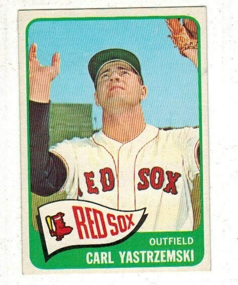 1965 Topps #385 Carl Yastrzemski