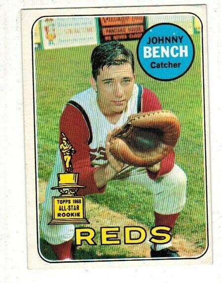 1969 Topps #95 Johnny Bench list $150