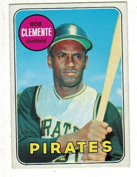 1969 Topps #50 Roberto Clemente list$80