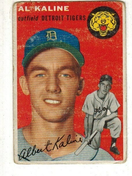 1954 Topps #201 Al Kaline rookie Fair list $1500