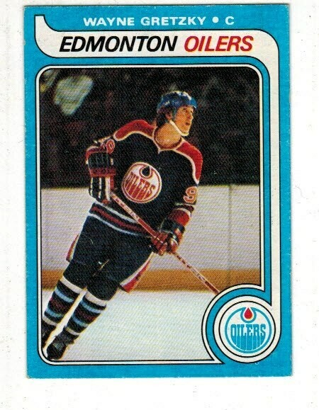 1979-80 Topps #19 Wayne Gretzky rookie Ex+ to Ex/Mint