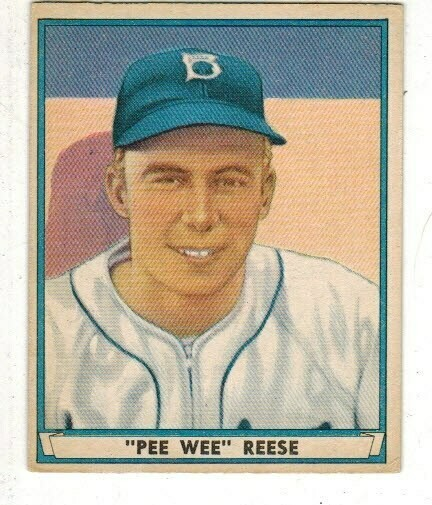 1941 Playball #54 Pee Wee Reese rookie Ex/Mint
