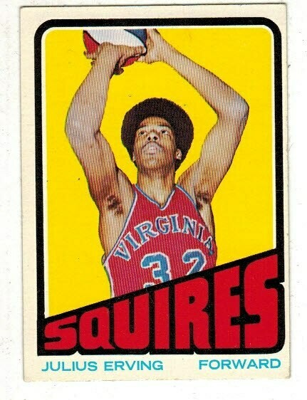 1972/73 Topps #195 Julius Erving rookie
