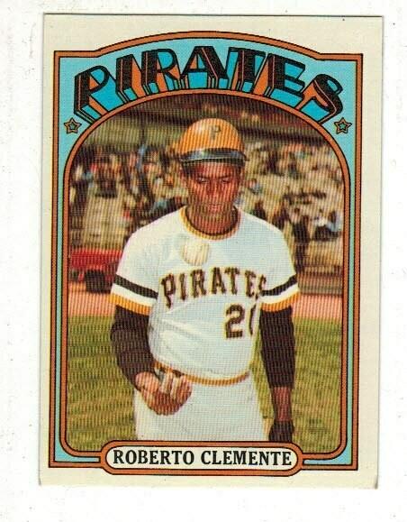 1972 Topps #309 Roberto Clemente list $80