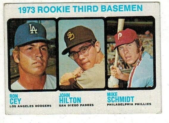 1973 Topps #615 Mike Schmidt rookie list $300