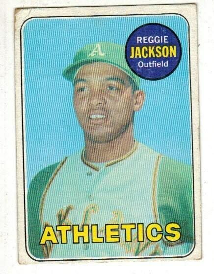 1969 Topps #260 Reggie Jackson rookie list $400
