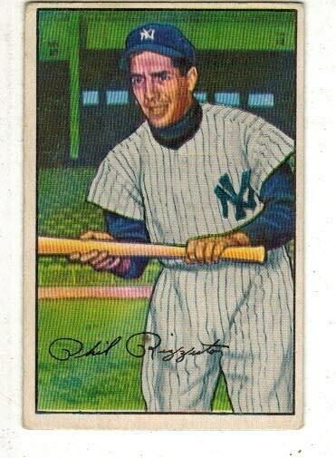 1952 Bowman #52 Phil Rizzuto list $150