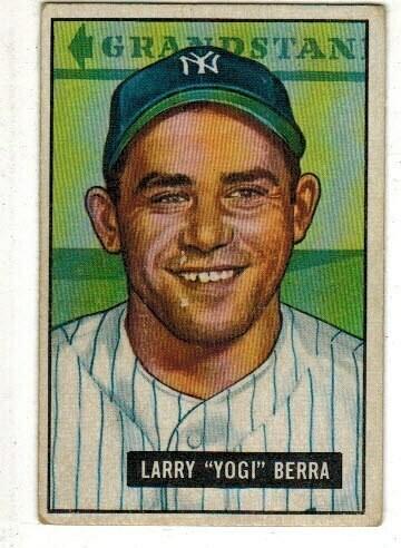 1951 Bowman #2 Yogi Berra list $500