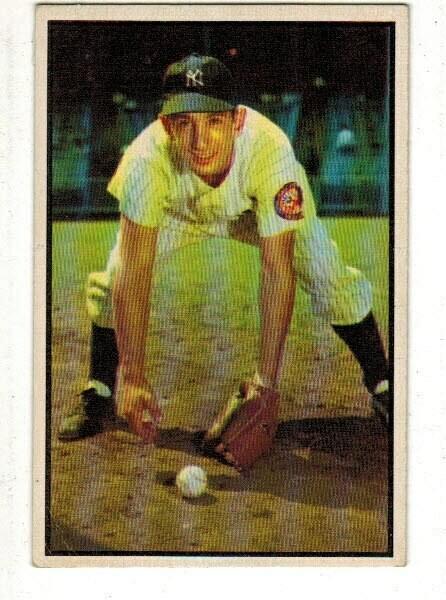 1953 Bowman #118 Billy Martin list $300