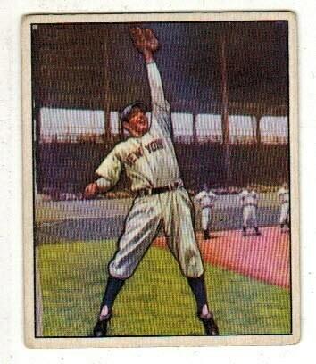 1950 Bowman #11 Phil Rizzuto list $300