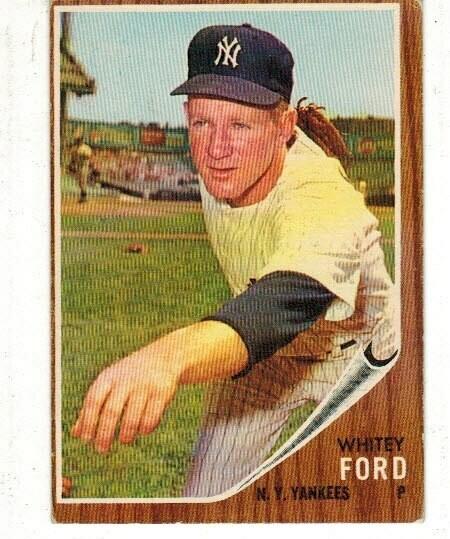 1962 Topps #310 Whitey Ford list $50