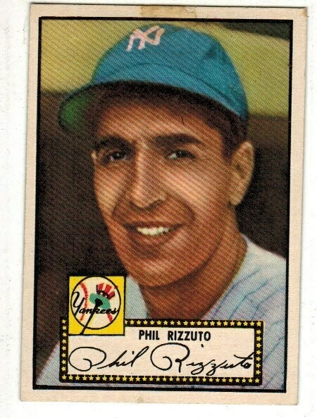 1952 Topps #11 Phil Rizzuto list $400