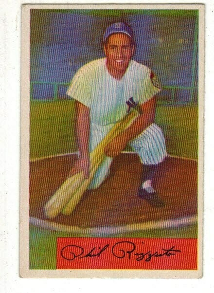 1954 Bowman #1 Phil Rizzuto list $120