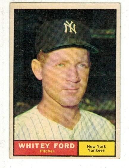 1961 Topps #160 Whitey Ford list $50