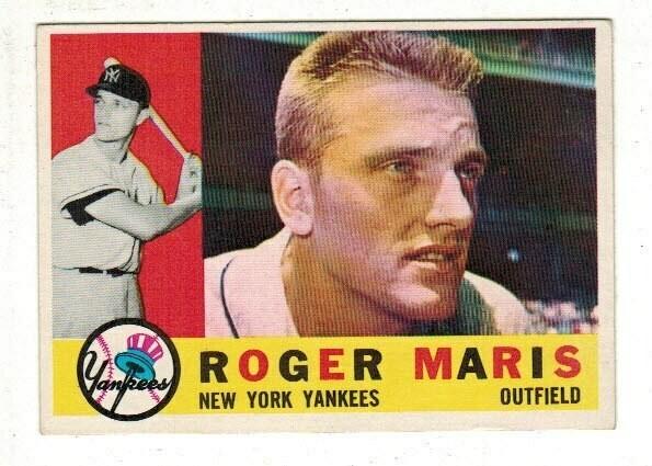 1960 Topps #377 Roger Maris