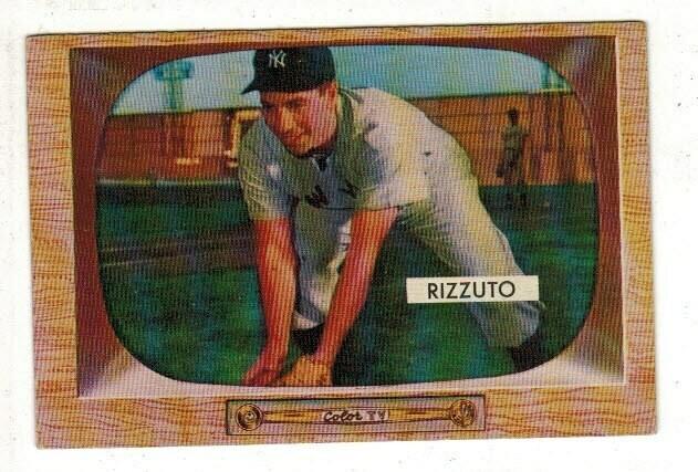 1955 Bowman #10 Phil Rizzuto list $80