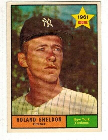 1961 Topps #541 Roland Sheldon