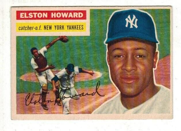 1956 Topps #208 Elston Howard list $60