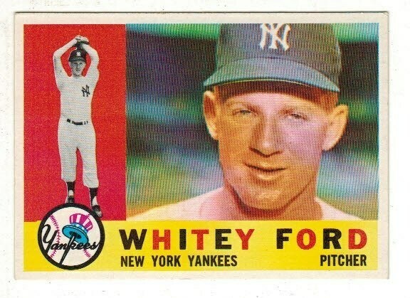 1960 Topps #35 Whitey Ford